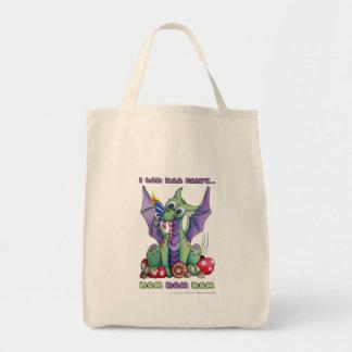 I Can Haz Fairy NOM NOM NOM cute baby dragon Tote Bag