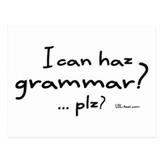 I Can Haz Grammar? Postcard