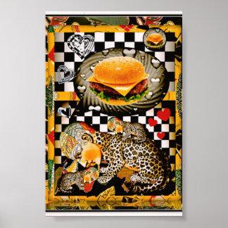 I can haz no chezburger now! poster