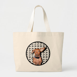I Can Hear You Large Tote Bag