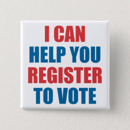 I CAN HELP YOU REGISTER TO VOTE BUTTON