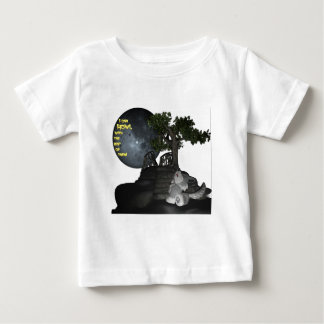 I can howl with the best of them! baby T-Shirt
