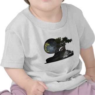 I can howl with the best of them! t-shirts