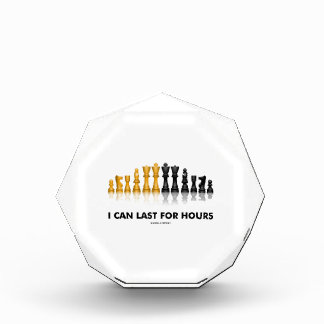 I Can Last For Hours (Chess Humor Chess Set) Award