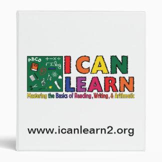 I Can Learn - Binder