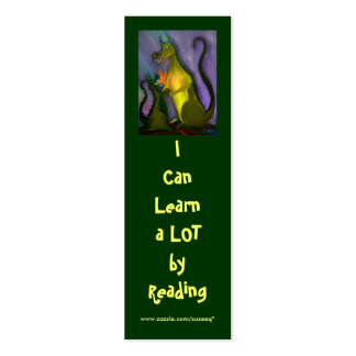 I Can Learn (dragon) bookmark Business Cards