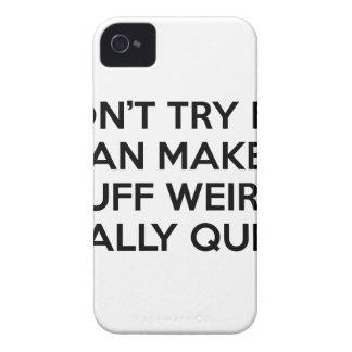 I Can Make Stuff Weird Case-Mate iPhone 4 Case
