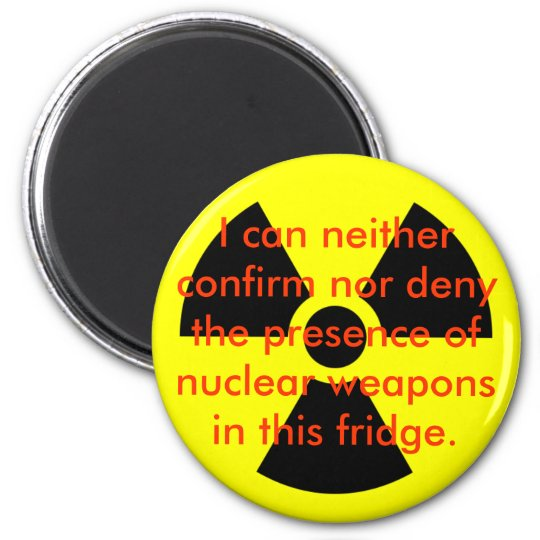 I can Neither Confirm Nor Deny the Presence Magnet