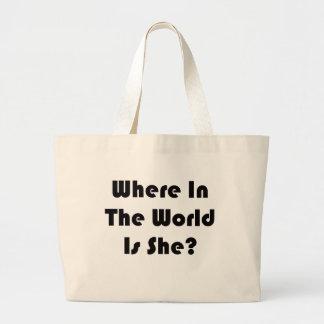 I Can Never Find Carmen Large Tote Bag
