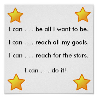 I can... posters