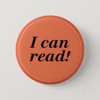 I can Read -Reader/Student/Kindergarten Button