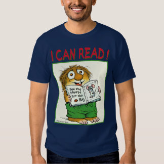 I Can Read T-shirt