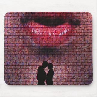 I Can Read Your Lips Mouse Pad