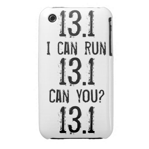 I can run 13.1 -- Can you? Case-Mate iPhone 3 Cases