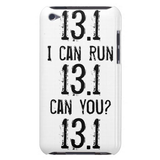 I can run 13.1 -- Can you? iPod Touch Cover