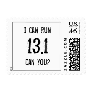 I can run 13 1 -- Can you Postage Stamps