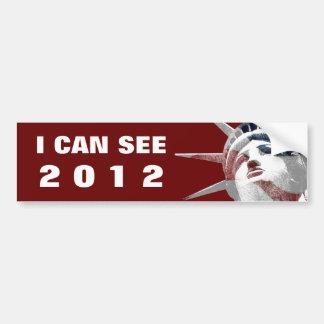 I Can See 2012 Car Bumper Sticker