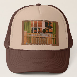 I can see Kenya from my crib! Trucker Hat