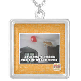 I can see no way this could fail square pendant necklace