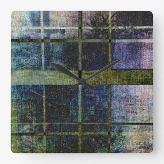 I Can See What You're Doing Square Wall Clocks