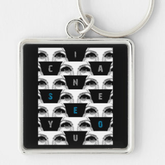 i can SeE yOu Keychains