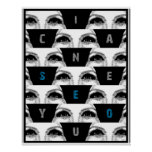 i can SeE yOu Poster