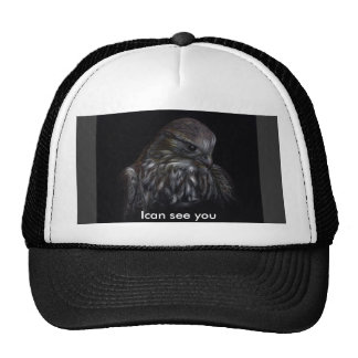 I can see you trucker hat