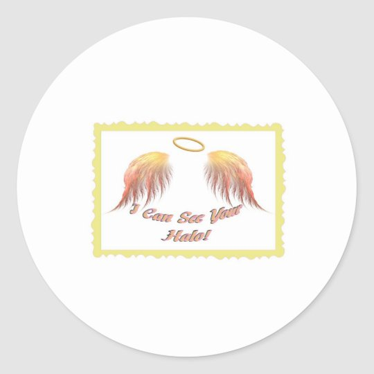 I Can See Your Halo! 2nd Edition Collection Classic Round Sticker