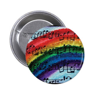 I Can Sing A Rainbow 2 Inch Round Button