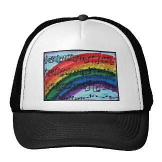 I Can Sing A Rainbow Trucker Hat