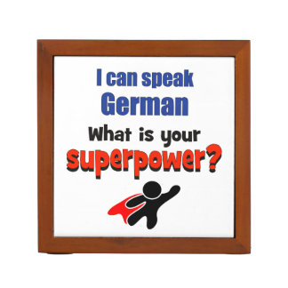 I can speak German. What is your superpower? Pencil Holder