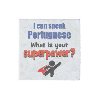 I can speak Portuguese. What is your superpower? Stone Magnet