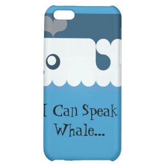 """I Can Speak Whale..."" iPhone case iPhone 5C Case"