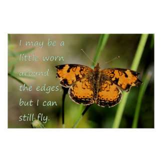 I can still fly Butterfly POSTER