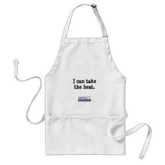 """I can take the heat"" apron"