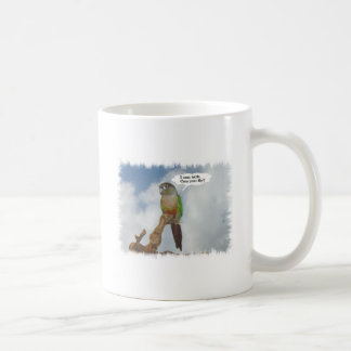 I can talk, Can you fly? Coffee Mug