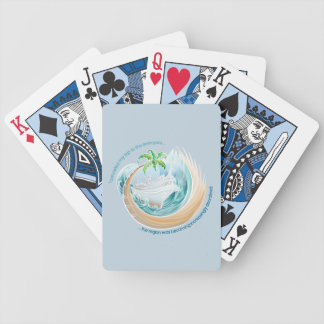I cancelled my trip to the entropics... bicycle playing cards