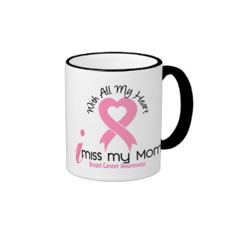 I cáncer de pecho de Srta. My Mom Taza De Dos Colores