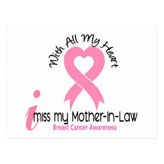 I cáncer de pecho de Srta. My Mother-In-Law Postal