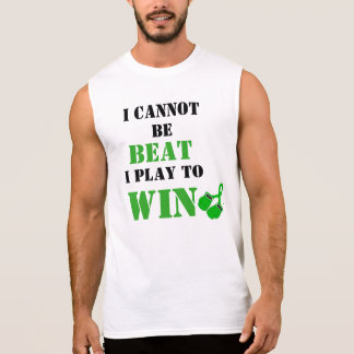 I Cannot Be Beat, Play to Win - Liver Cancer Sleeveless Shirt