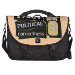 I can't bear political corectness bags for laptop