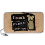 I can't bear political corectness laptop speaker