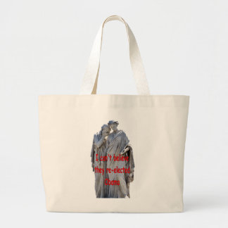 I CAN'T BELIEVE THEY RE-ELECTED OBAMA CANVAS BAG
