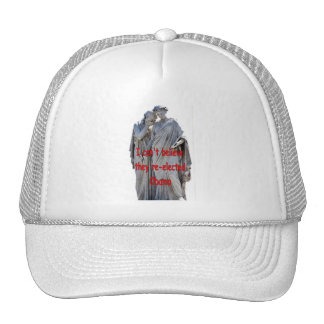 I CAN'T BELIEVE THEY RE-ELECTED OBAMA TRUCKER HAT