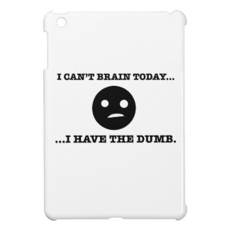 I can't brain today. I have the dumb. Cover For The iPad Mini
