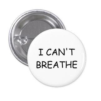 I can't breathe - Button - Small - White