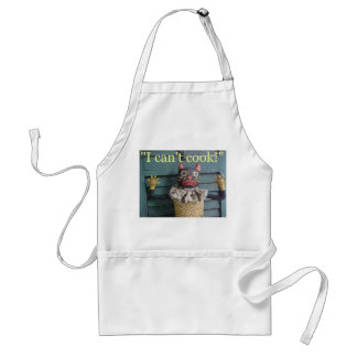 """""""I Can't Cook!"""" Adult Apron"""
