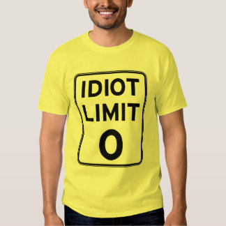 I can't deal with any more idiots T-Shirt