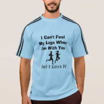 I Can't Feel My Legs - Adidas SS Running T-Shirt
