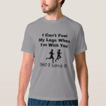 I Can't Feel My Legs - New Balance SS Running T-shirt